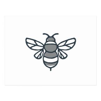 Bumblebee Bee Icon Postcard
