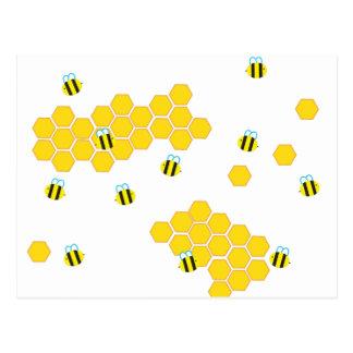 Bumblebee Buzz Postcard