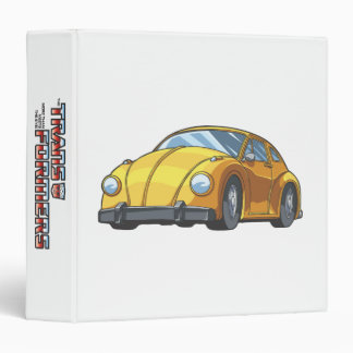Bumblebee Car Mode Vinyl Binders