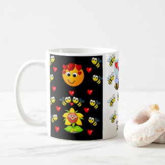 bumblebee coffee tea mug