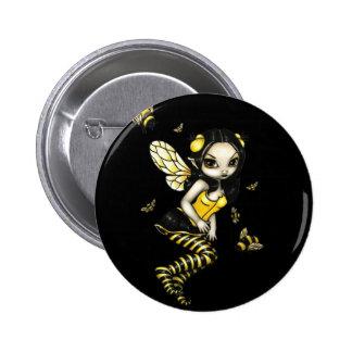 Bumblebee Fairy Button