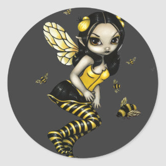 """BumbleBee Fairy"" Sticker"