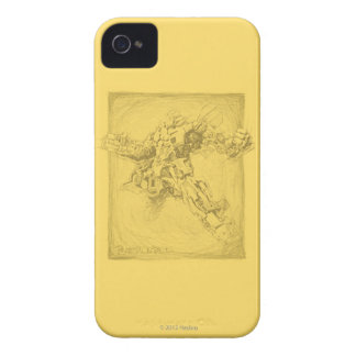 Bumblebee Full Sketch iPhone 4 Case-Mate Case