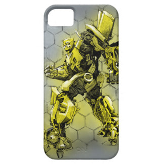 Bumblebee Honeycomb Bkgd iPhone 5 Cover