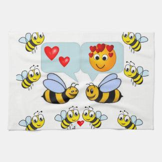bumblebee kitchen hand towel