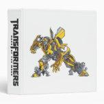 Bumblebee Line Art 4 Vinyl Binders
