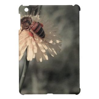 Bumblebee on flower iPad mini cover