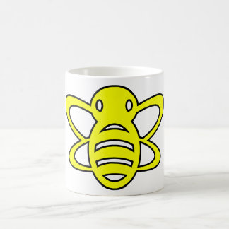 Bumblebee or Bumble Bee Honey Queen Wasp Yellow Classic White Coffee Mug