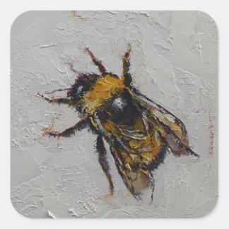 Bumblebee Square Sticker