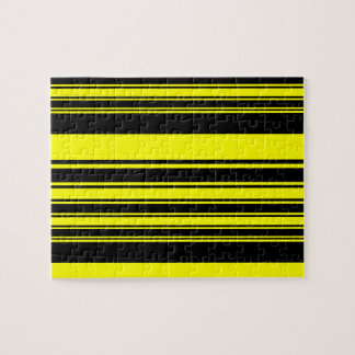Bumblebee Stripes Jigsaw Puzzle