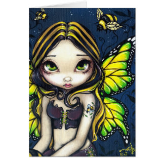 """Bumblebee Tattoo"" Greeting Card"