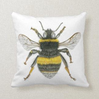 Bumblebee Throw Cushion