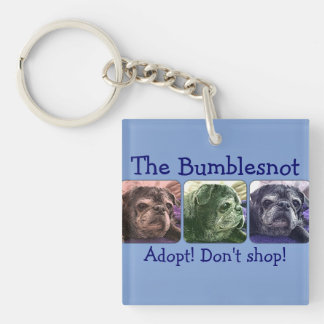Bumblesnot keychain:  Color Me Bumble Keychain