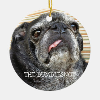 "Bumblesnot ornament ""wag snort snort"""