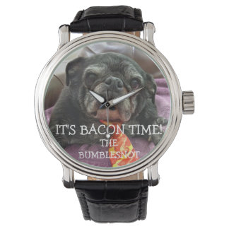Bumblesnot Watch: It's BACON TIME! Wrist Watches
