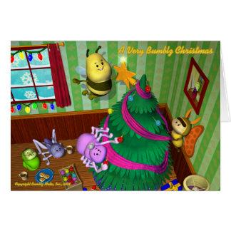 Bumblz Christmas Card #2 - Customized