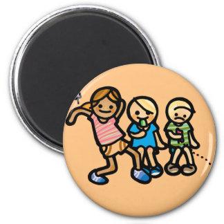 bummin' around button. magnet
