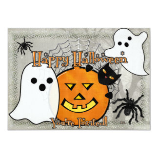 Bump in the Night Halloween Card