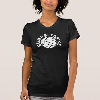 Bump set spike volleyball team t shirts