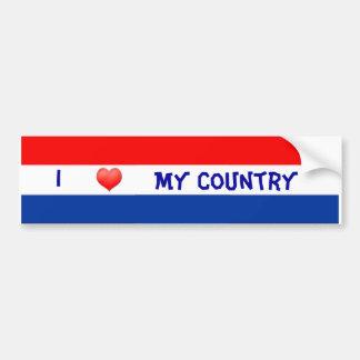 Bumper Dutch Flag Bumper Sticker
