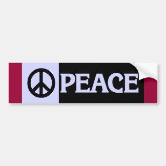 BUMPER peace2 Bumper Sticker