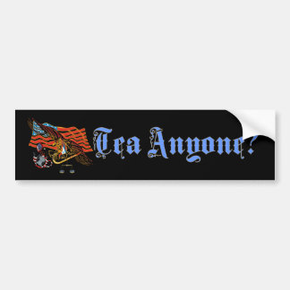 Bumper-Sticker-1-Tea-Anyone Bumper Sticker