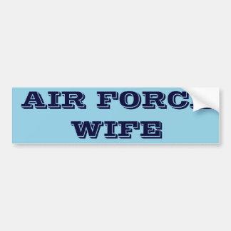Bumper Sticker Air Force Wife