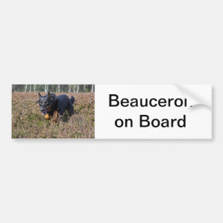 bumper sticker beauceron