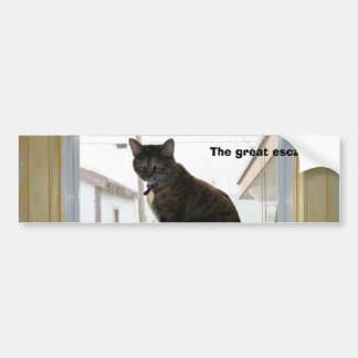 Bumper Sticker, Calico Cat Bumper Sticker