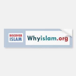 Bumper Sticker Discover Islam (10)