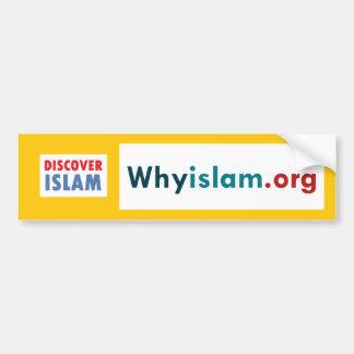Bumper Sticker Discover Islam (7)