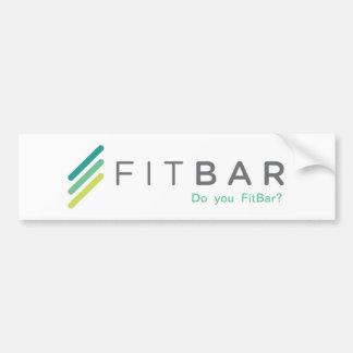 Bumper Sticker: Do You FitBar? Bumper Sticker