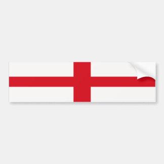Bumper Sticker England St. George Cross Flag