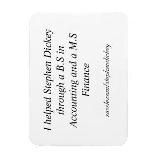 Bumper Sticker for school! Rectangular Photo Magnet