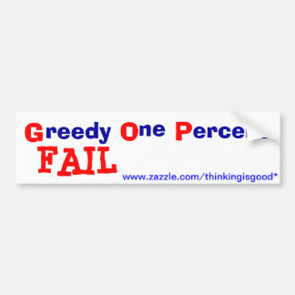 Bumper Sticker - GOP - FAIL