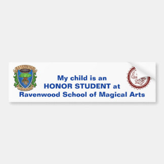 Bumper Sticker - Honor Student