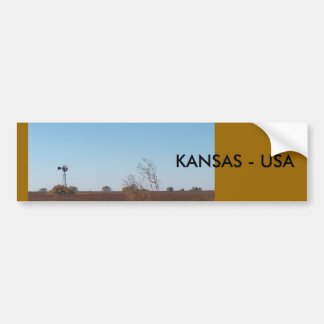 Bumper Sticker/Kansas Bumper Sticker