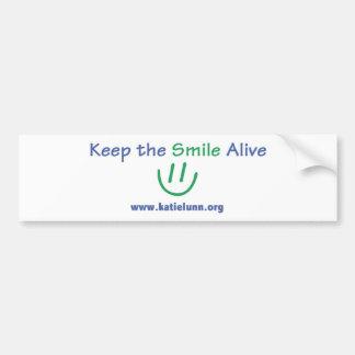 Bumper Sticker - Keep the Smile Alive