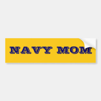 Bumper Sticker Navy Mom