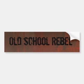 Bumper Sticker Old School Rebel
