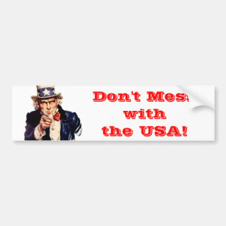 Bumper Sticker - patriotic