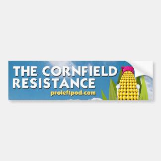 Bumper Sticker - The Cornfield Resistance