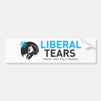 Bumper Sticker Vinyl Liberal Tears Salt funny