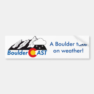 Bumper Sticker (Wintry Logo)