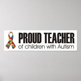 bumper teacher autism 1 poster