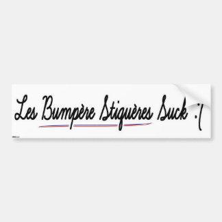 Bumpère Stiquéres Suck Bumpère Stiquère Bumper Sticker
