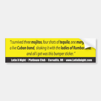 bumpersticker-latinx bumper sticker