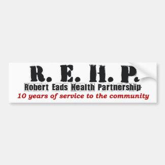 Bumpersticker -Robert Eads Logo Bumper Sticker