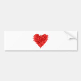 BumperStickers|RedHeartBoa Bumper Sticker