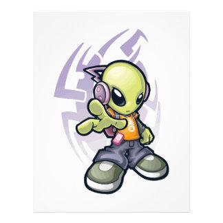bumping Alien Letterhead